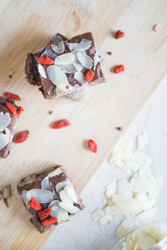 vegan chocolate fudge 7