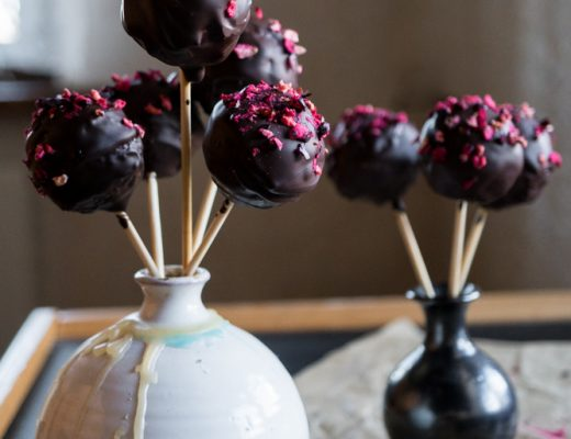 vegan chocolate cake pops